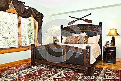 Modern Bedroom/Rustic Decor