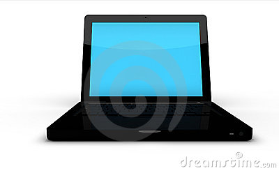 Modern Black Laptop