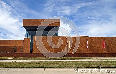 Modern Brick Building