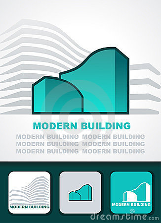 Modern building background