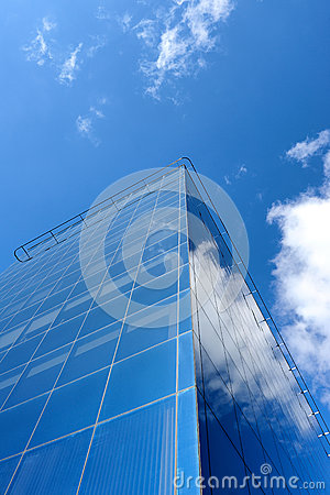 Modern building of business