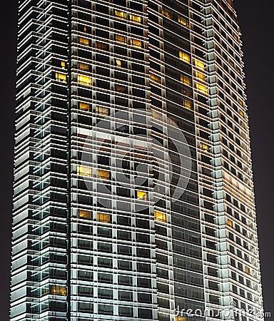 Modern building in Chengdu