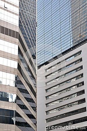 Modern building composition