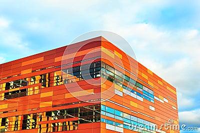 Modern building corner