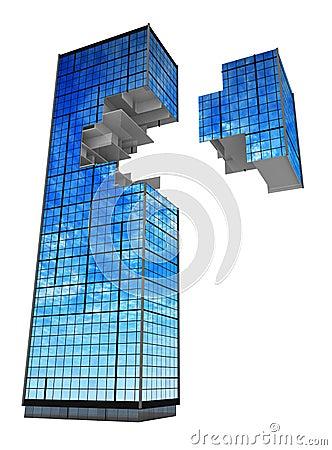 Modern Building, Fragment