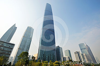 Modern building in guangzhou