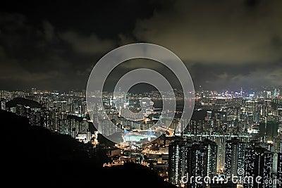 Modern Building in Hong Kong