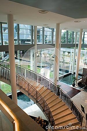 Modern Building Interior