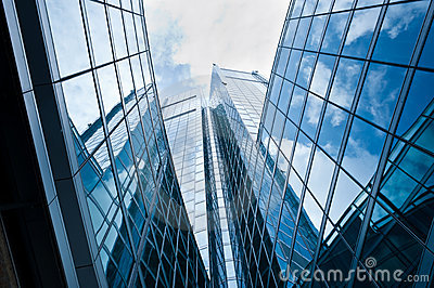 Modern building: new palazzo Lombardia in Milan Editorial Stock Photo