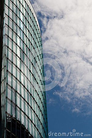 Modern building and reflecting windows, Berlin