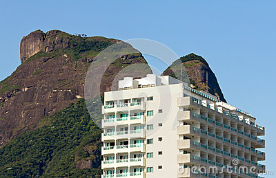 Modern building in Rio De Janeiro