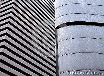 Modern building texture