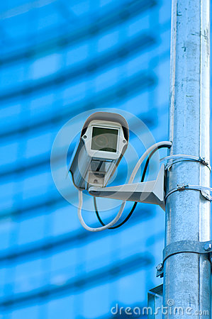 The modern building video surveillance