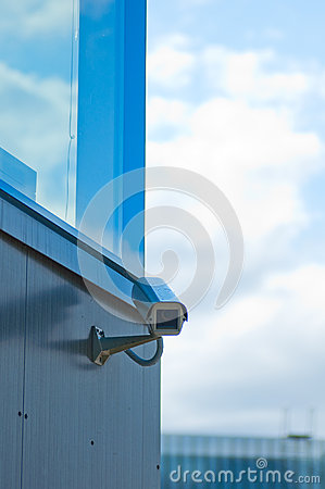The modern building video surveillance