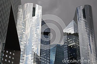 Modern Buildings 6 Editorial Stock Photo