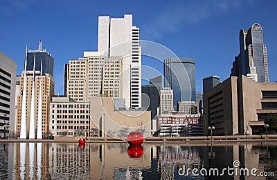 Modern buildings in Dallas