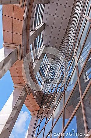 Modern buildings  detail