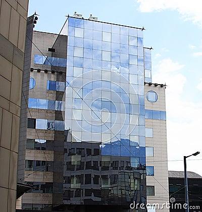 Modern buildings, france