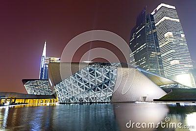 Modern buildings in Guangzhou Editorial Image