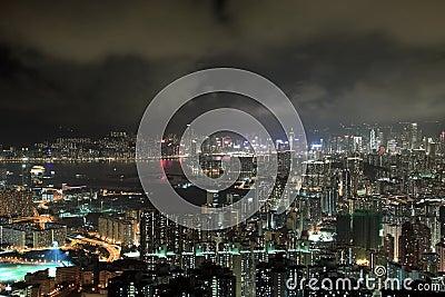 Modern Buildings in Hong Kong