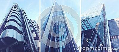 Modern buildings in London City