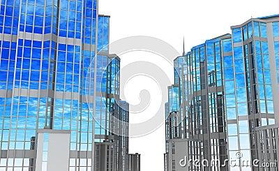 Modern Buildings, Street Sides