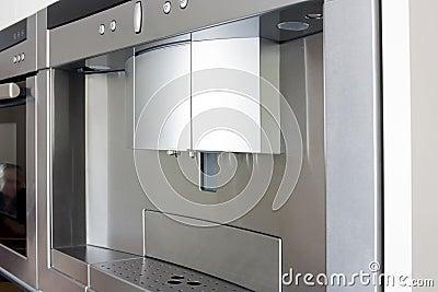 Modern built in coffee maker