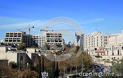 Modern built Jerusalem
