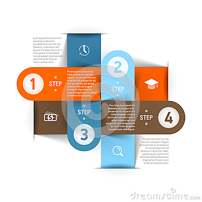 Free Modern Business Infographics Template Stock Photo - 31340970
