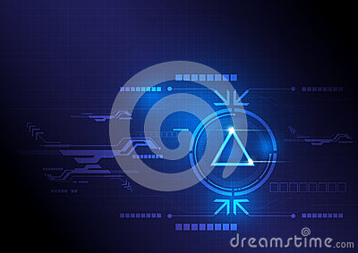 Modern button and technology
