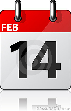 Modern calendar icon.