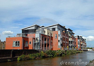 Modern Canalside Apartments