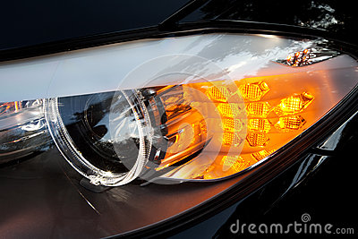 Modern car headlights