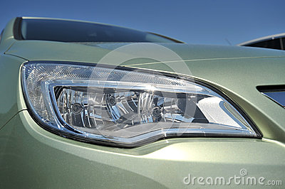 Modern car light