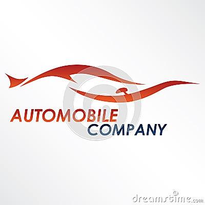 Modern car logo