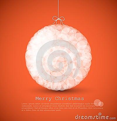 Modern Christmas Decor on Stock Images  Modern Card With Christmas Decoration  Image  21922894