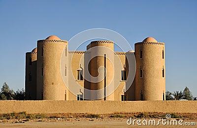 Modern Casbah in Morocco
