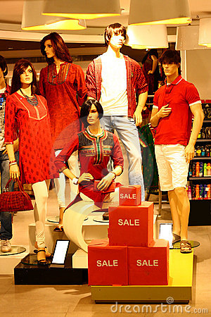 Modern Casual Clothing Retail Discount Sale