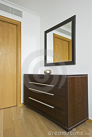 Free Modern Chest Of Drawers Stock Photography - 10097722