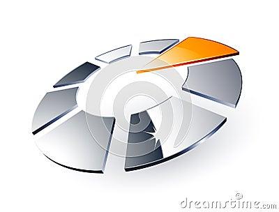 Modern chrome design