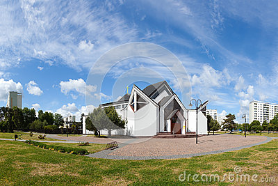 Modern church in Gdansk