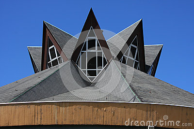 Modern church roof