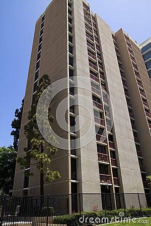 Modern City Apartment Buildings