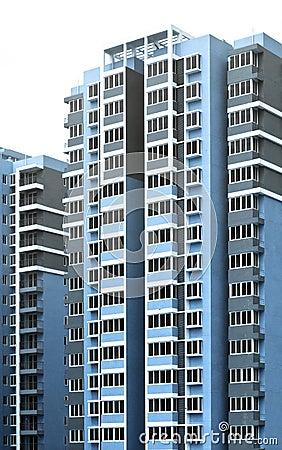 Modern City building background