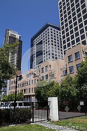 Modern City Office Buildings