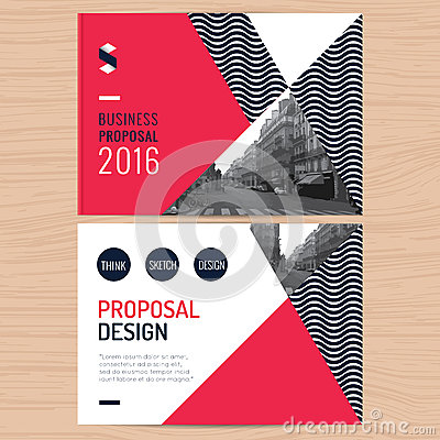 Modern Clean Business Proposal, Annual Report, Brochure, Flyer ...