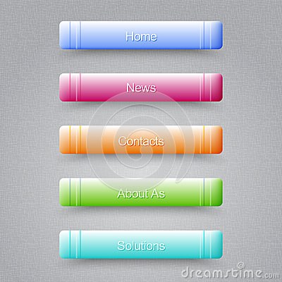 Modern Colored Buttons For Your Website