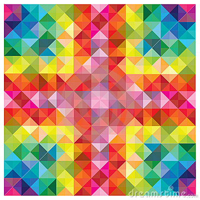 Modern colorful elements at abstract pattern