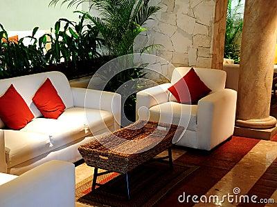 Modern comfortable room
