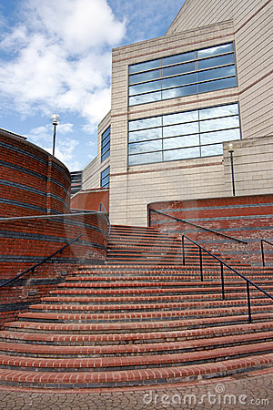 Steps to Modern Commercial Building
